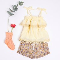 Spring summer children' s clothing baby girl kids new re...