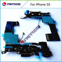 Dock Connector Port de charge Câble Flex pour iPhone 5S casque Flex audio - Noir Livraison gratuite