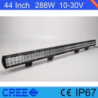 Hot Sale 44 Inch Cree 288W LED Light Bar For Offroad 4*4 SUV...