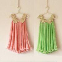 baby girl kids sequin dress sequined pleated dress pleats pr...