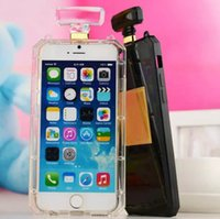 Luxury Perfume Bottle Case Cases Black Transparent TPU Cover...
