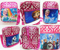 Frozen newest baby girl boy cartoon schoolbag children the t...