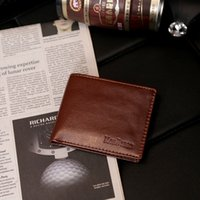 New Stylish Classical Men' s PU Leather Wallet Pockets C...