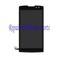 Gros-Black Full Ecran LCD + écran tactile Digitizer Pour LG Assemblée Leon H340 H324 H320 H340N livraison gratuite