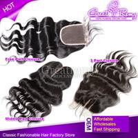 Indian Malaysian Peruvian Brazilian Body Wave Human Hair Lac...