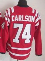 2015 #74 John Carlson 2015 Winter Classic Red Stitched Jerse...