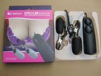 nipple vibrator bdsm nipple clips clamps Bondage Vibrators A...