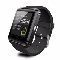 Bluetooth U8 montre Smart Watch Montres avec altimètre pour iPhone 4S 4 5 6 5S 6S Samsung S5 S6 Note 3 Note 4 5 HTC Android Phone Dans Gift Box