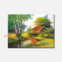 Оптовая Дешевые Картины Unframed Классические картины стены Декор Холст Art Ландшафтный дизайн Холст отпечатанных изображений стеновая панель