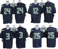 Wholesale 2015 Super Bowl XLIX Jerseys American Elite Footba...