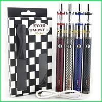 Kit de haute qualité Evod Twist III 1600mAh Evod Twist 3 Batterie M16 atomiseur cigarettes électroniques énormes Vaporisateur Kit E kit de cigarette DHL gratuit