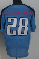 2015 new Player White blue Elite Jersey, Wholesale Customized...