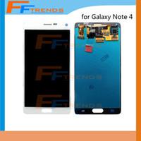 Pour Samsung Galaxy Note 4 N910 N910T N910P N910R N910V N910A N910E N910H Écran LCD d'origine avec écran tactile d'assemblage Dropshipping