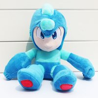 Megaman Game Rockman plush toy doll Blue Color Anime Stuffed...