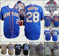2015 World Series Patch 28 Daniel Murphy New York Mets Home ...