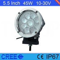 "Hot Sale Black 5. 5"" Inch Cree 45W LED Work Light For Je..."