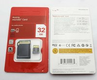 DHL vende la tarjeta de memoria 32GB 64GB SDHC Clase 10 TF Micro SD tarjeta de regalo nuevo 2015 30pcs / lot de DHL