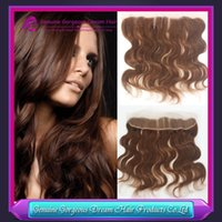#4 Brazilian Body Wave Lace Frontal Closure 13x2 Virgin Huma...