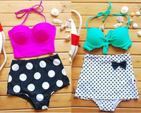 Hot Women' s Fashion High Waisted Swimwear Girls Sexy La...