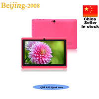 7inch AllWinner Q88 A33 Quad Core Android 4. 4 Tablet pc 4GB ...