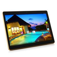 Nouveau PC de tablette 10.1 pouces MTK8382 octa core IPS 1280x800 écran 4G RAM + 64GB ROM Android 4.4 3G Téléphone double carte SIM