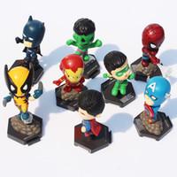 The Avengers Super heroes Q edition Captain American Hulk X-...
