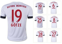 Customized 15 16 season Outdoors 19# GOTZE Soccer Jersey, Who...