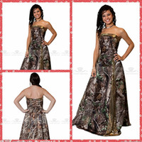 Wholesale Long Camo Prom Dresses - Buy Cheap Long Camo Prom ...