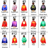 superman cape superhero cape children boy costume for childr...