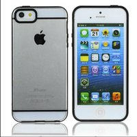 Colorful TPU Bumper Frame Rubber Back Case Cover For iPhone ...
