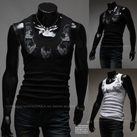 Free shipping- 2014 The new trend of men round neck undershir...