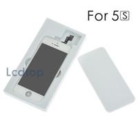 Pour iPhone 5 / 5S / 5C Tianma Écran LCD Digitizer Affichage Assemblée AAAA Qualité Pas de Pixels Morts