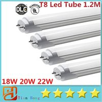 2016 110- 240V 18W 20W 22W Led T8 1. 2m 4 Feet Tube Lights 220...
