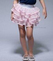 baby girl kids lace skirt pettiskirt tutu skirt lace layers ...