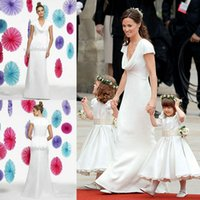 Pippa Middleton Bridesmaid Dresses UK Cheap Under 100$ 2015 ...