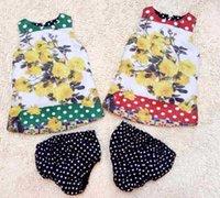 Girls Flower Dresses Sets 2015 Brand D European Baby Clothes...