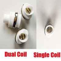 Wax Atomizer Dual Coil Head Ceramic Rod for Elips Wax pen Mi...