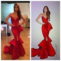 Rami Salamoun Red Carpet Evening Dresses 2015 Sexy Sweethear...