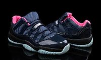2016 Cheap Retro (11) XI Basketball Shoes Athletics Boots Me...