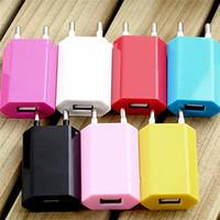 Venta al por mayor cargador de pared UE UE enchufe USB AC fuente de alimentación Alta calidad cigarrillo electrónico adaptador de pared