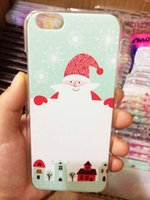 CHRISTMAS DESIGN Drawing Soft Tpu case for iphone 6 6 Plus