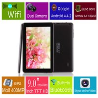 Ship from USA! iRulu 9 Inch Quadcore Tablet PC Android4. 4 Du...