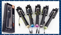 MINI wired Selfie Stick Monopod for Iphone 6 Plus 5s Wired P...