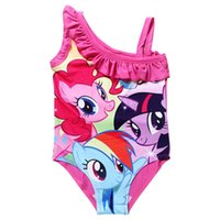 10pcs 2015 Summer New My Little Pony Children Girls Swimwear...