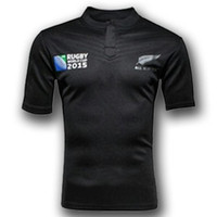 RWC New Zealand All Blacks Rugby Shirt 2015 2016 Season Men ...