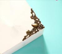100% Brand New и хорошее качество Vintage декор мебели Box Угловой стол Защитная крышка Полка Край