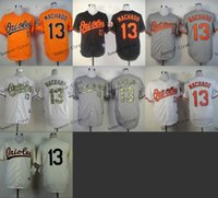 baltimore orioles #13 manny machado Cheap Wholesales Basebal...