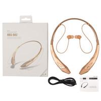 HBS-902 casques sans fil Bluetooth CSR 4.0 8635chip HBS902 Ecouteur casque Sport neckband pour iPhone Samsung HBS900 HBS800 Universal