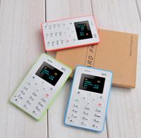 AEKU AIEK M5 V5 Card Mobile Phone 4. 5mm Ultra Thin Pocket Mi...