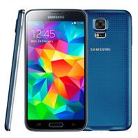 100% Восстановленное Оригинальный Samsung Galaxy i9600 S5 G900F G900V G900A G900T G900V Quad Core 2GB / 16GB 4G LTE